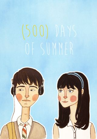 (500) Days of Summer · Studio helloluizaillustrations · Posters · R$75,00
