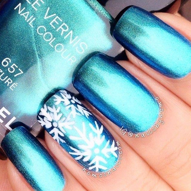 Best 25 disney frozen nails ideas on pinterest olaf nails disney frozen 2015 christmas elsa snowflake nail art shiny frozen elsa nail prinsesfo Images