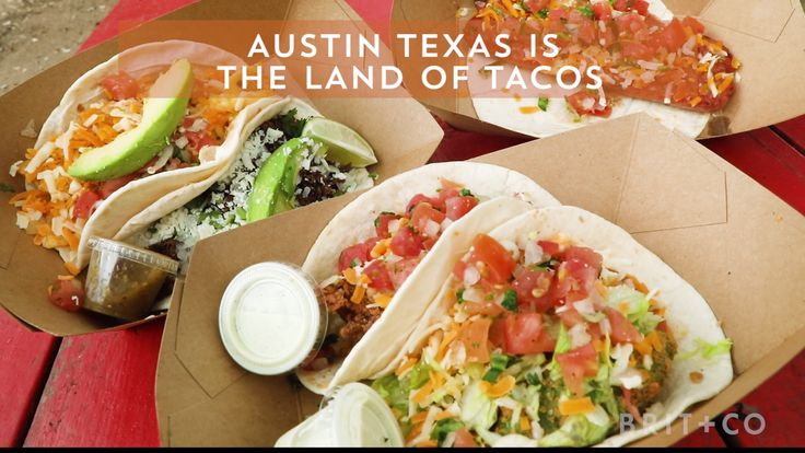 Watch this video to discover the best places to eat tacos in Austin, Texas.
