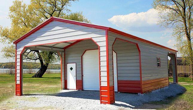 20 31 Utility Carport Utility Buildings Metal Building Homes