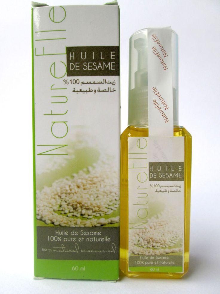 Olio di Sesamo puro 100% naturale - Unico Ingrediente - 60 ml
