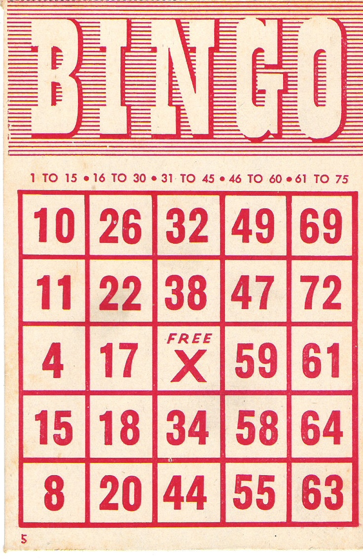 27 best Bingo Cards images on Pinterest | Bingo cards, Game cards ...
