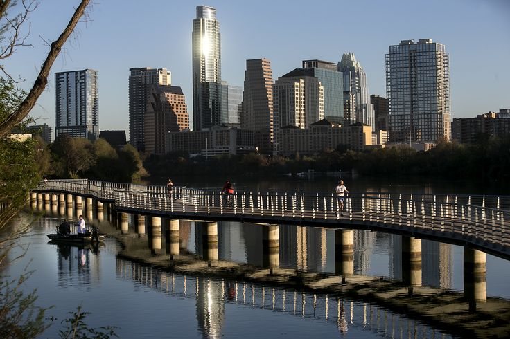 It turns out there's a city that has more of a right than Austin to complain about new residents. Which (admit it -- you're not from here) is really saying something.   As the sun rises on the city of Austin, people run and cycle along the boardwalk over Lady Bird Lake while others fish nearby. With sunny skies, temperatures are expected to reach a high of 92 Monday,...