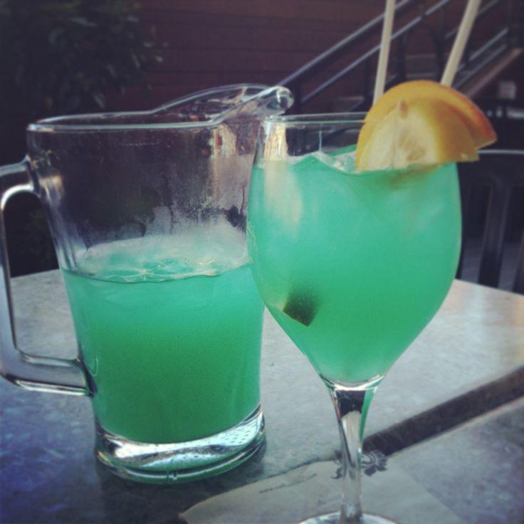 Sangria bleue #vin #blanc