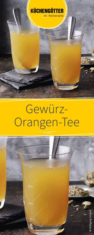 Gewürz-Orangen-Tee