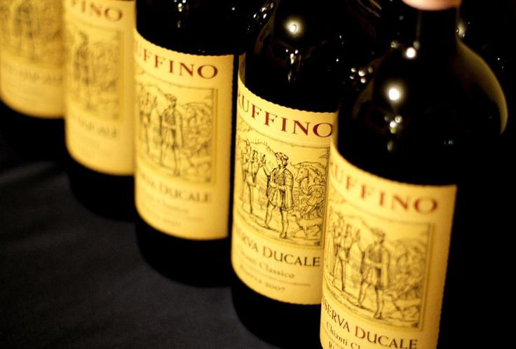 Ruffino : one of our fav wineries. The Classico reserve is great ... I want to try their prosecco...