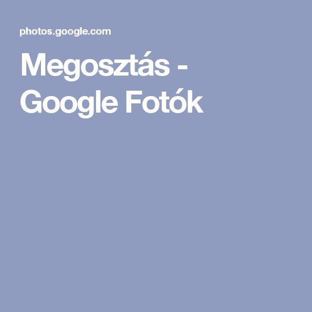 Megosztás - Google Fotók