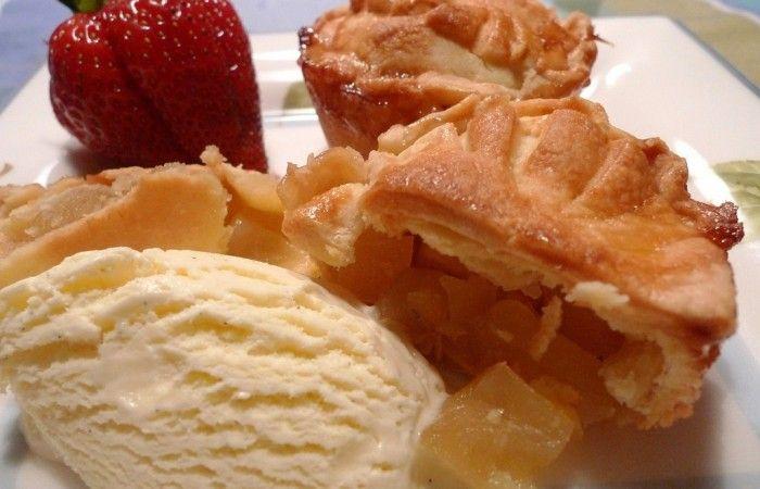 Вкусные пирожки с яблоками http://mirpovara.ru/recept/3008-vkusnye-pirojki-s-yablokami.html  Пирожки с яблоками - настоящее домашнее счастье, способное всегда принести уют и тепло. Эта чудесная...  Ингредиенты:  Для теста  • Мука - 400г. • Масло сливочное - 200г. • Яйцо - 2шт. • Пудра сахарная - 4ст. л. • Соль - 1/2ч. л. • Сок лимонный - 1ст. л. • Вода ледяная - 4ст. л.  Для начинки  • Яблоко - 4шт. • Мед - 2ст. л. • Сахар - 100г. • Палочка корицы - 1шт. • Масло сливочное - 40г. • Лимон…