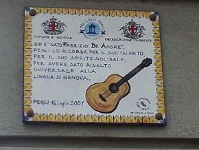 Fabrizio De André - Wikipedia