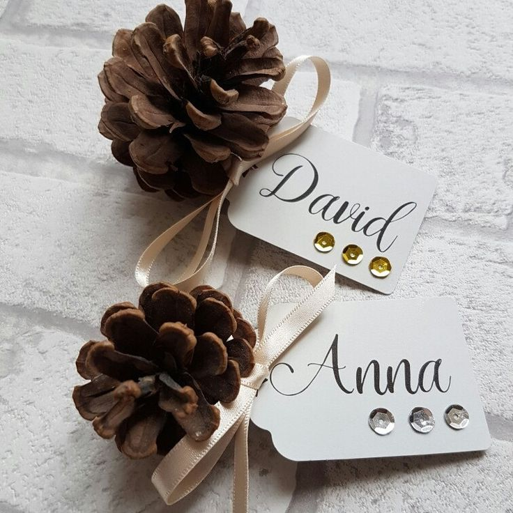 New Place Cards now available - soooo perfect for a glamorous Christmas Dinner table!