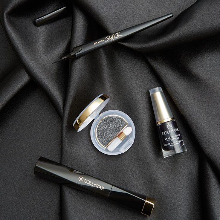 Voglia di...un #makeup intrigante ma sempre elegante? Scegliete il #NERO!