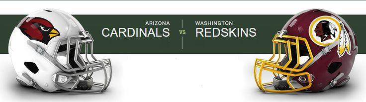 Washington Redskins at Arizona Cardinals University of Phoenix Stadium — Glendale, AZ on Sun Dec 4 at 2:25pm, From $48.00