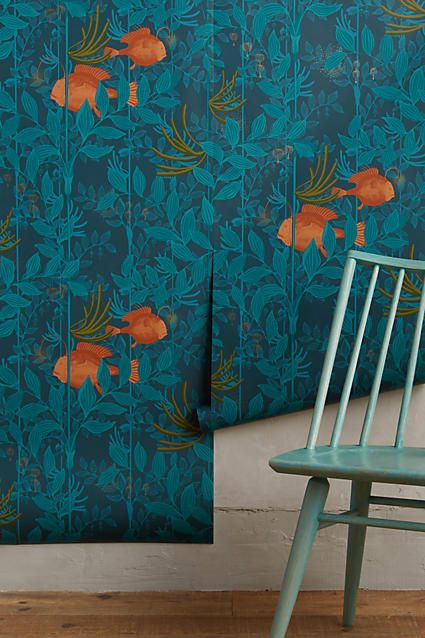Ocean Reverie Wallpaper   Anthropologie.com
