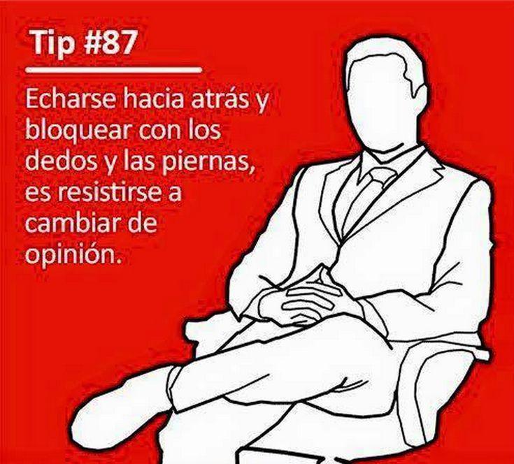 Tips De Lenguaje corporal Sin Orden numerico.