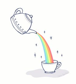 gif drawing Illustration art colors Magic tea artists on tumblr my whispered colors