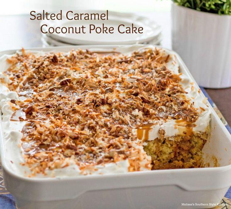 Coconut Snack Cake Recipes