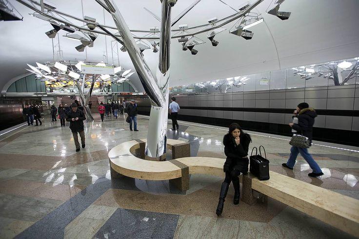 Новая станция метро в Москве | theHZ.ru
