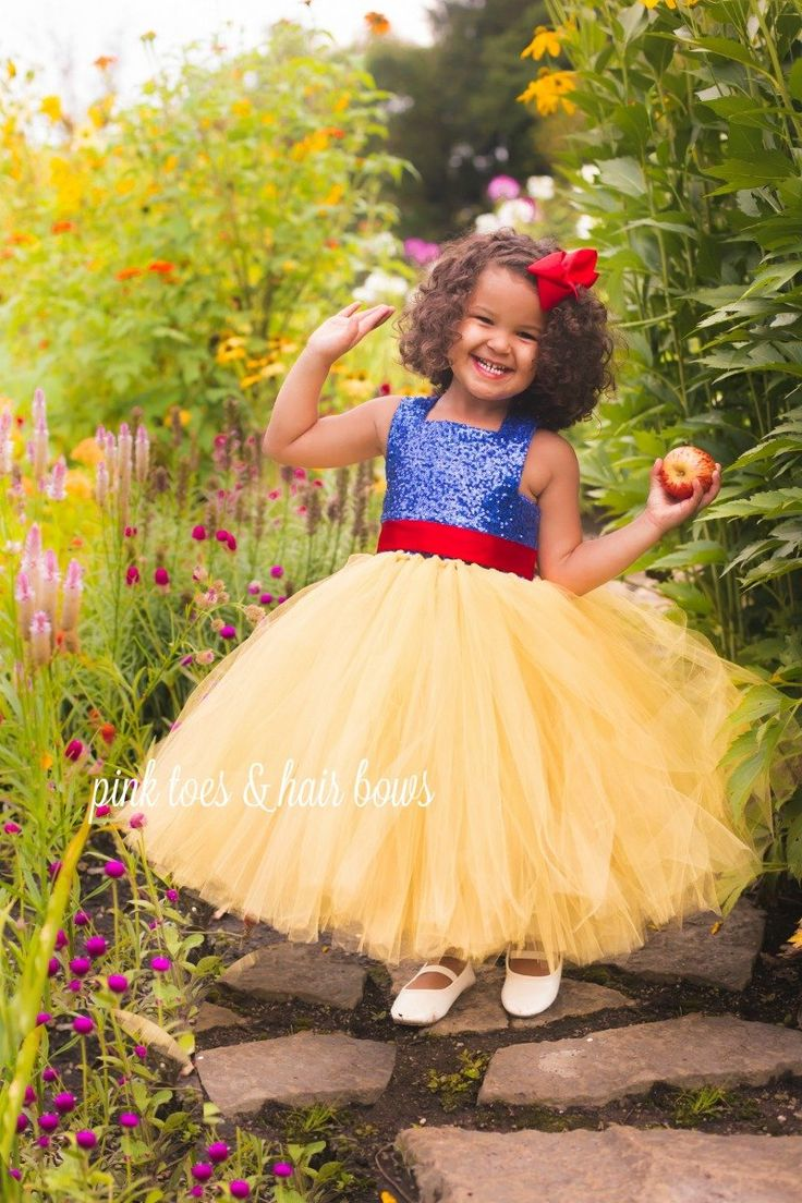 Snow White Tutu Dress-Snow white dress- Snow white Costume -Snow white Tutu-snow white birthday-snow white party-snow white