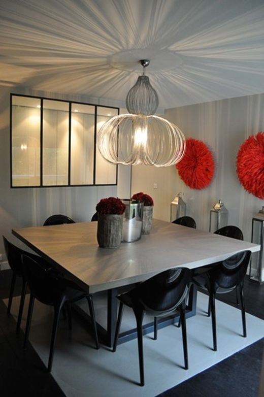 1000 id es sur le th me table carr e sur pinterest for Table carree 8 personnes avec rallonge