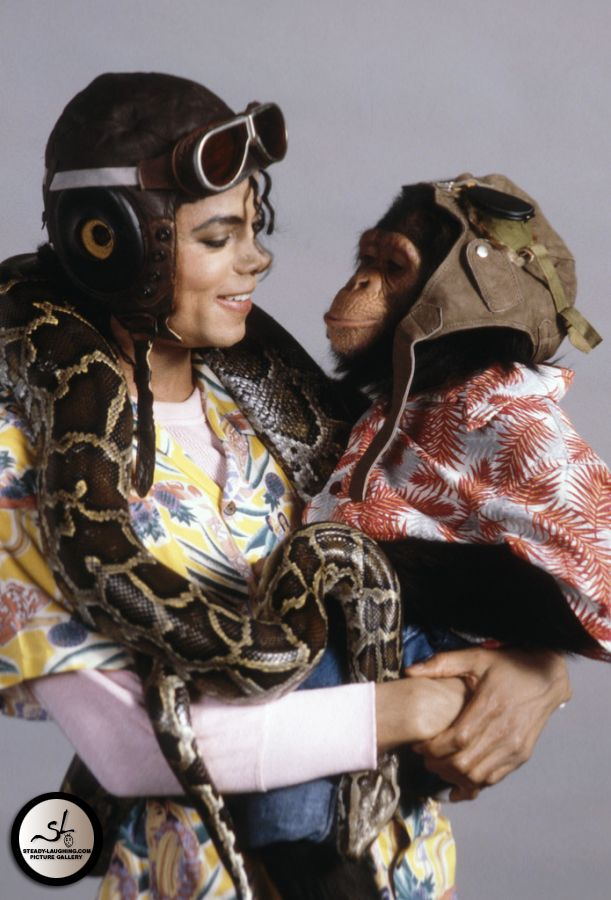 Michael and Bubbles.