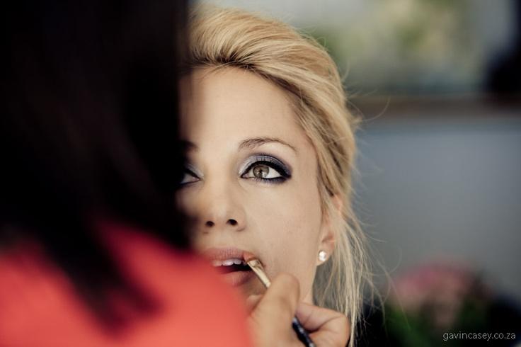 eye makeup - Bonnie & Antonie wedding photographer cape town South Africa Gavin Casey -10