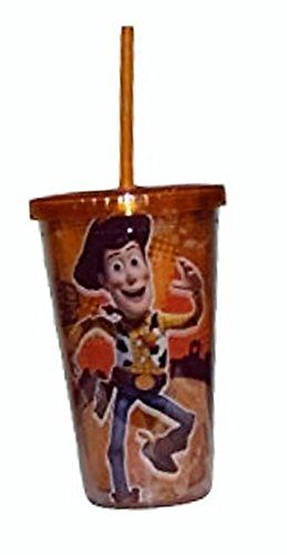 Toy Story Woody 16 Oz Insulated Tumbler W/ Lid & Straw @ niftywarehouse.com #NiftyWarehouse #Toy #Story #Movie #ToyStory #Pixar