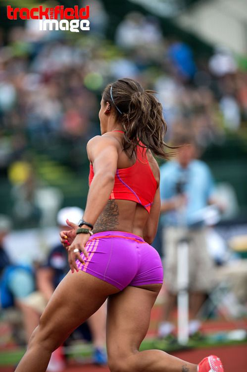 Her sexy runner butt every penny