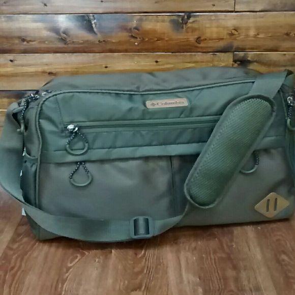 Columbia Moss Green Diaper Bag