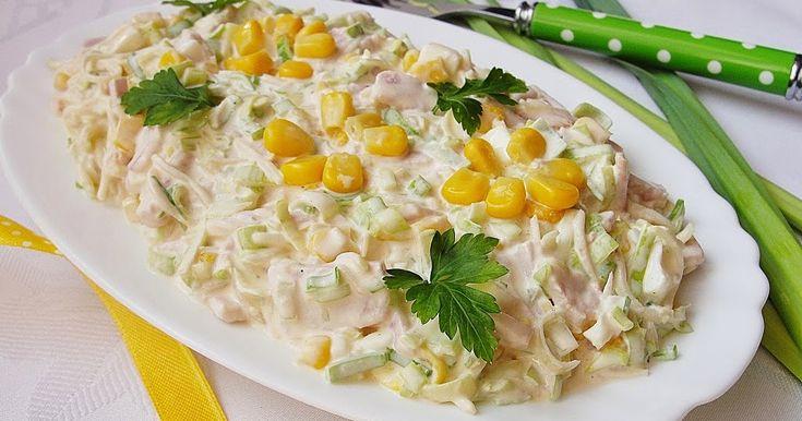 Ala piecze i gotuje: Sałatka z pora