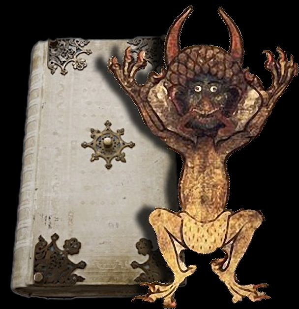 Lucifer Bible: 11 Best Images About The Devil's Bible/ Codex Gigas On