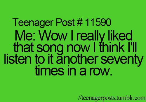SOOOO TRUE  right now i'm listening to Heart Attack for the 60th time! lol