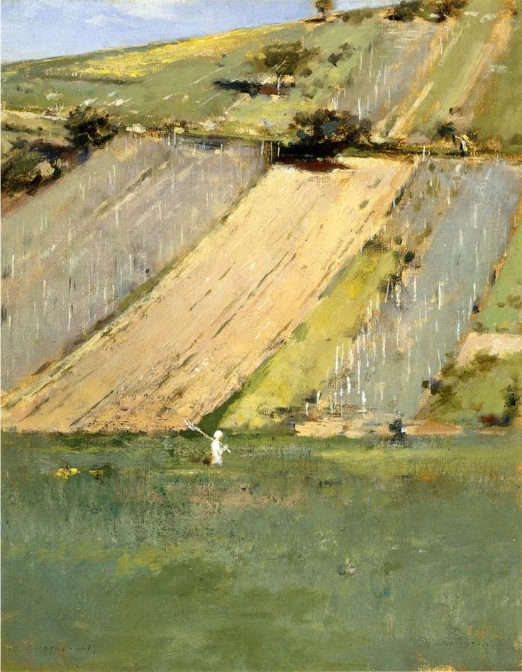 Valley of the Seine Giverny Theodore Robinson