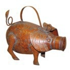 Smith & Hawken® Pig Watering Can - Antique Copper