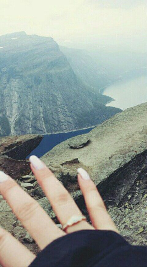Trolltunga i Tyssedal, Hordaland