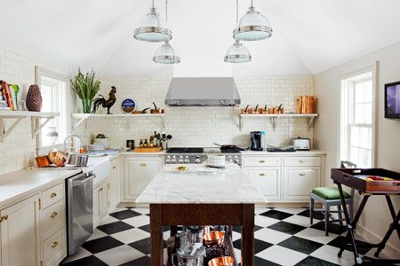 Photo: Tim St. Porter | thisoldhouse.com | from All About Ceramic Subway Tile