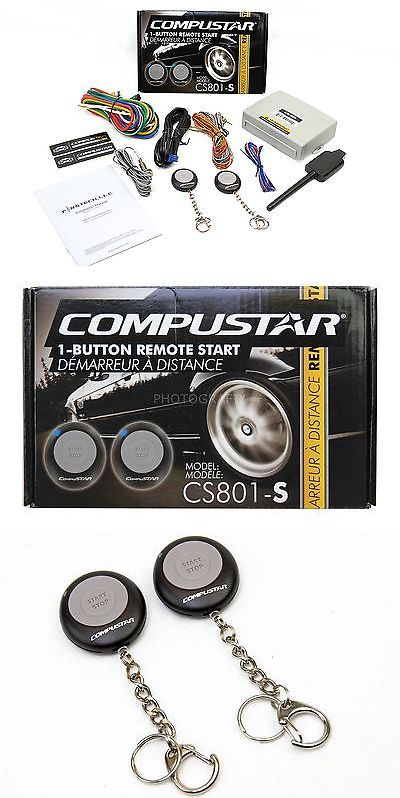 Remote Start and Entry Systems: Compustar Cs801-S 1 Button Remote Start Car Auto Starter (Replaced Cs601-S) BUY IT NOW ONLY: $33.11