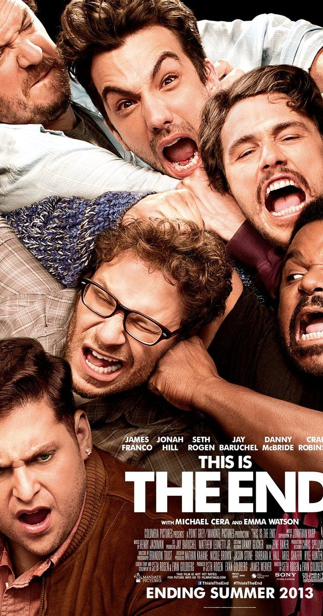 Directed by Evan Goldberg, Seth Rogen.  With James Franco, Jonah Hill, Seth Rogen, Jay Baruchel. While attending a party at James Franco's house, Seth Rogen, Jay Baruchel and many other celebrities are faced with the apocalypse.