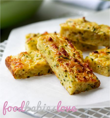 Zucchini Slice - Food Babies Love