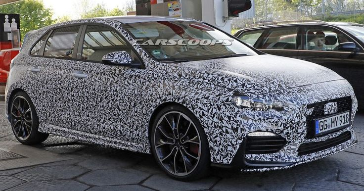 Spied: New Hyundai i30 N Is Korea's VW Golf GTI Fighter #Hyundai #Hyundai_i30