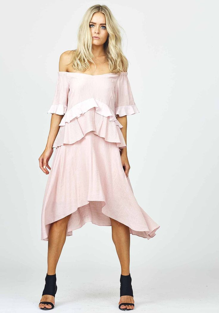 Three Of Something - Virtuous Dress - Pink