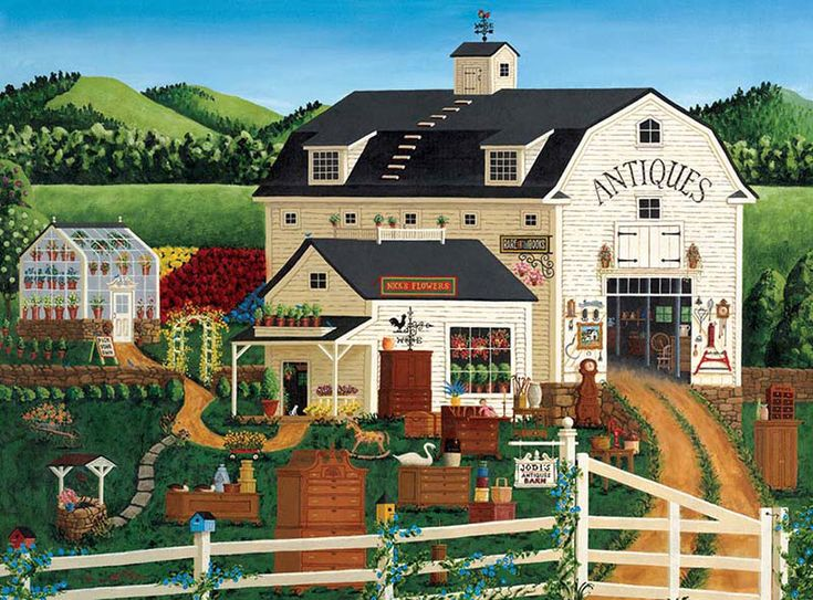 Jodi's Antiques Barn | Buy Jigsaw Puzzles, Games, Brain Teasers and Gifts – PuzzleWarehouse.com