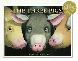 The Three Pigs by David Wiesner. 2002 Caldecott Medal winner. The wordless story of the three pigs from their point of view.