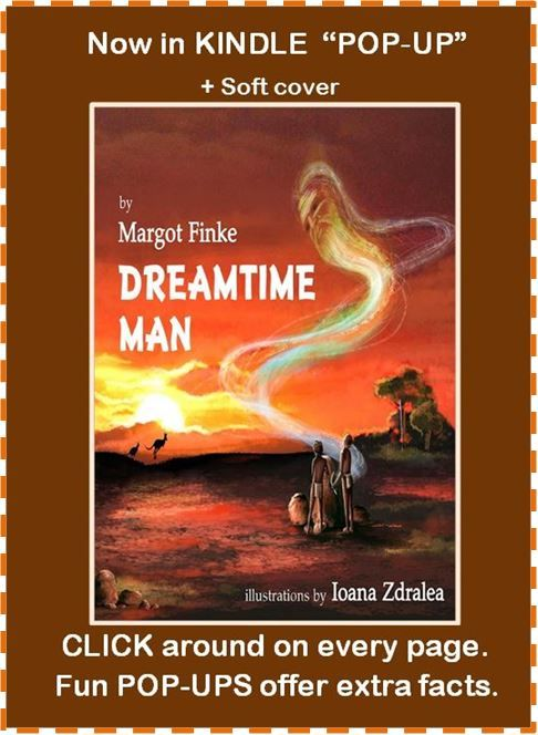 Australian Aboriginal history in rhyme. How they lived and respected nature and the land, and managed to survive the white man's arrival. In soft cover too. http://www.margotfinke.com