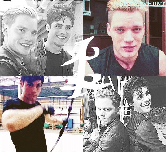 Jace and Alec // Parabatai // The Mortal Instruments // Shadowhunters // ABC Family // Shadowhunters TV Series