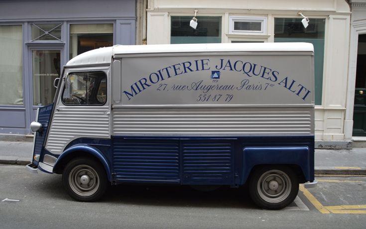 Citroën HY Fourgon Miroiterie Jacques Alti Paris
