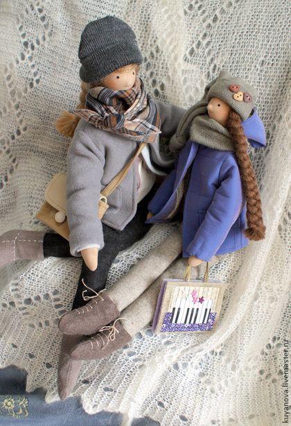 Куклы Тильды ручной работы. Старшая сестра.. Ирина Шляпкина. Ярмарка Мастеров. Подарок, сестрички, фетр