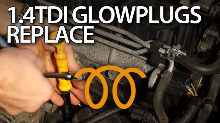 How to change glow plugs in 1.4 #TDI #engine #Volkswagen, #Audi, #Skoda, #Seat #cars #service