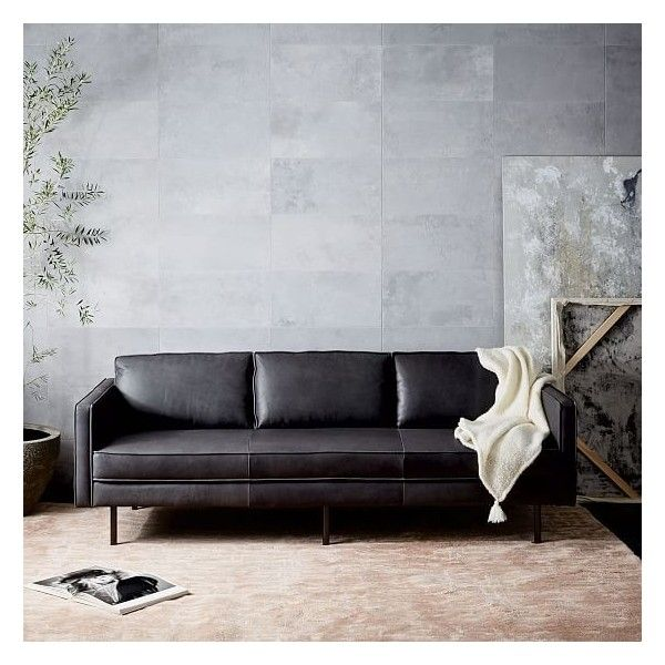 Best 25+ Black leather couches ideas on Pinterest | Living ...