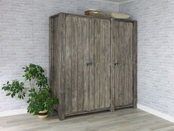 Rustikální dřevěná skříň Country 20