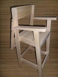 Resultado de imagen para silla de comer de madera para bebe